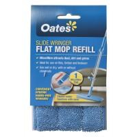 OATS FLAT MOP REFILL MICROFIBRE 60*15CM