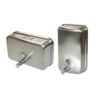 Vertical Stainless Steel Soap Dispenser 1.1 Litre