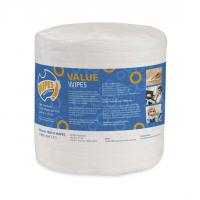 VALUE WIPES ANTIBACTERIAL 1200 WIPES ROLL (20cm*15cm)