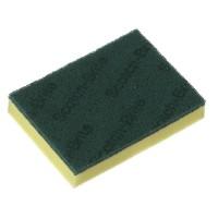 3M SPONGE SCOURER GREEN 150X100MM (230S)
