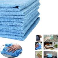 NAB MICROFIBRE CLOTH BLUE 40*40CM  10/PACK