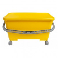 Yellow Bucket w Castors