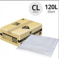 120LT HEAVY DUTY CLEAR BIN LINER 200PC/CTN